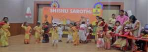 Children dancing to the beats of Bihu dance