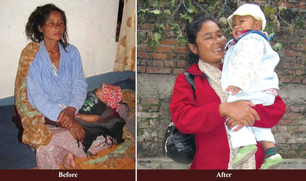 Help 100 woman suffering from violence in Nepal