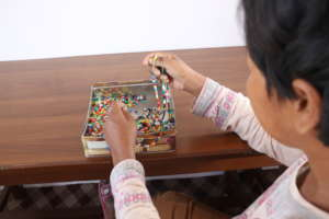Story of Recovery: Embedding beads to cherish life