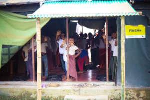 Empowering the Rohingya Children through Knowledge