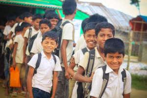 An Initiative to Make the Rohingya Children Smile