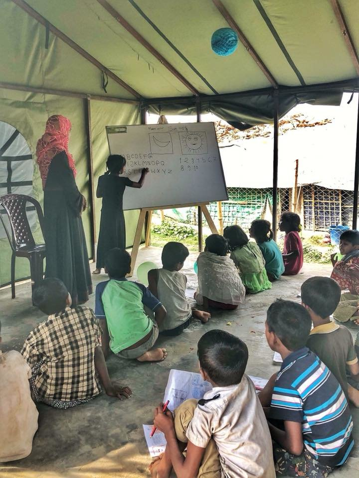 Safe Haven for Rohingya Refugee Children
