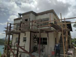 Completed rebuilding this Coral Bay Duplex Home