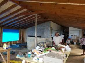 Project currently underway near Coral Bay, St John