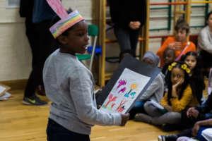 Refugee Children at our Rainbow Club