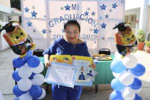 Paola Graduates from secondary school