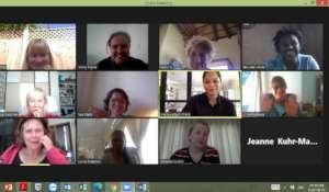 Regular Virtual Volunteer Meetings on Zoom