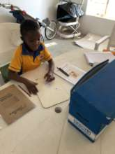 Zoom lessons with Grade 2 learners