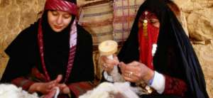 Traditional Bedouin Knitting