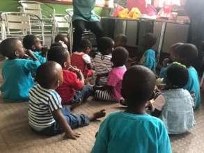 Children placed at Door of Hope