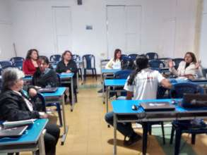 Teachers in Pamplona learning about SOLE