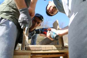 Learning woodworking to serve the community