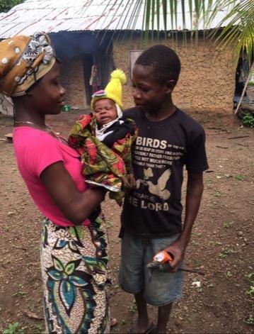 Re-Educate 100 Teen Mothers in South Sierra Leone