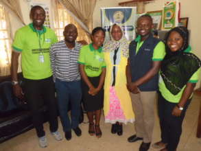 EWEI staff with the Honorable Commissioner.