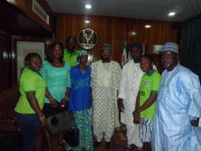 EWEI Visit to Kaduna  State House of Assembly