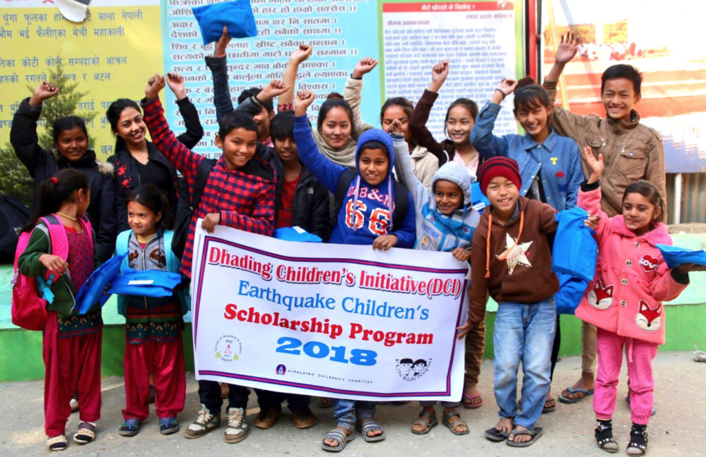 Education+care+mentorship for 100 Nepali children