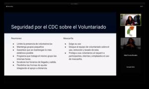 Webinar Managing a Volunteer Program in Pandemic