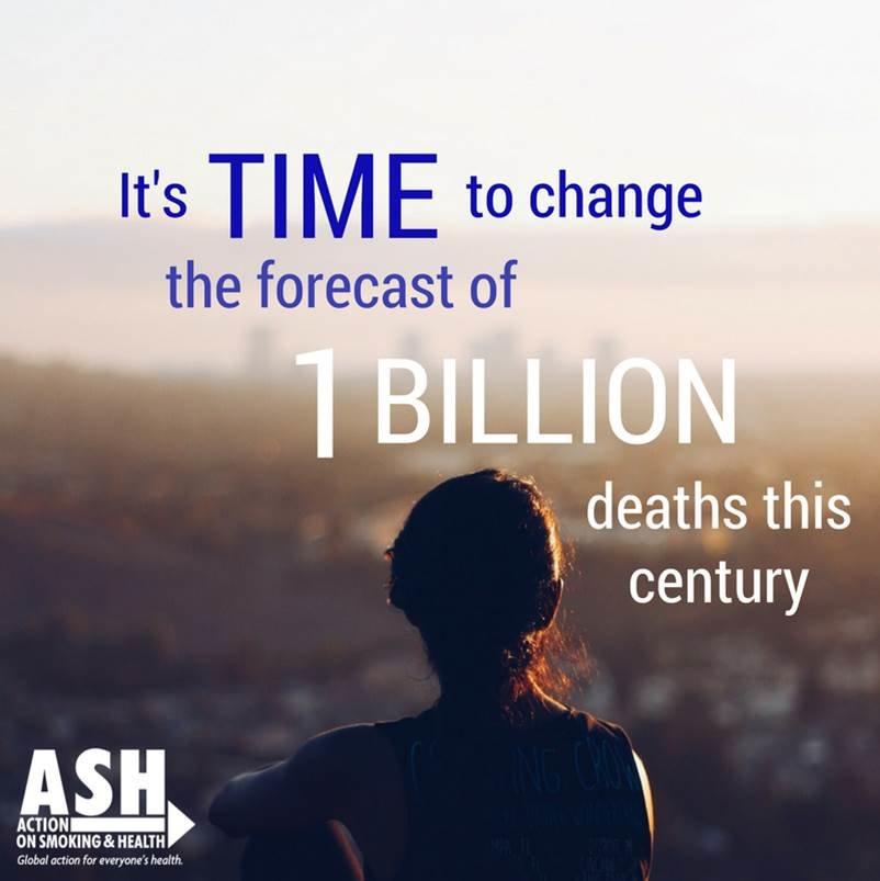 ASH Fighting 4 Health @ Tobacco Treaty Negotiation