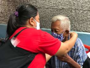 Making sure the elderly are cared for