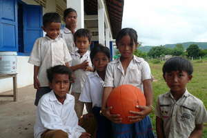 Cambodian School Children