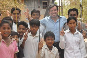 Our team in Cambodia