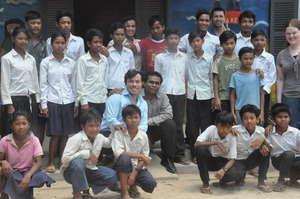 Field-Team in Cambodia