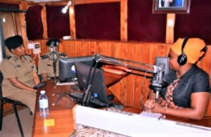 Radio interview with Ugandan police spokesperson