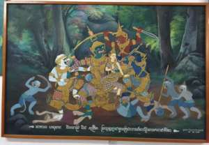 Cambodian mythological figures