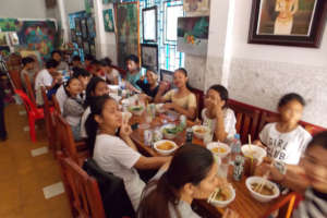 lunch party 4