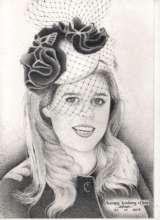 Portrait of Princess Beatrice of York