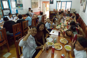 Curry party at Champey