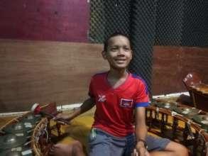 an aspiring young musician