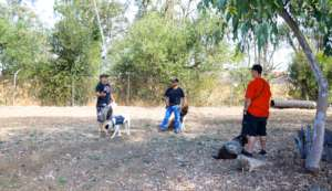 Training with Head Mentor Trainer & Veteran Regina
