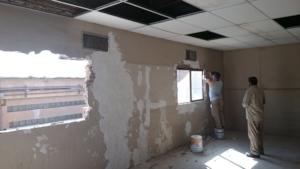 Day 1: demolition