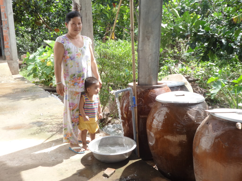 Give 1600 people access to water in rural Vietnam