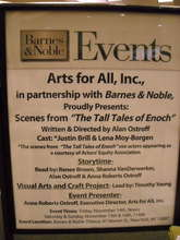 """""""The Tall Tales of Enoch"""" at Barnes and Noble #2"""