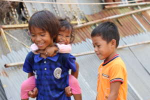 Psychosocial support for 300 Cambodian children