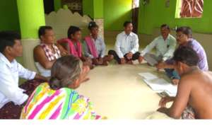 Meeting with Village Development Committee