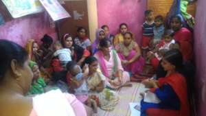Meeting with Community Women