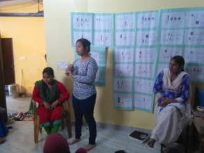 Sharing of KAP Findings to Community Women
