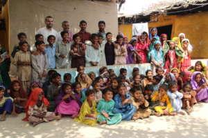 Students at Abdul Sattar Bachani Centre