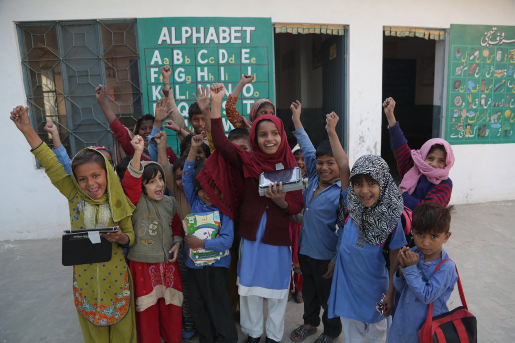 Education Kits for 21,000 children in Pakistan