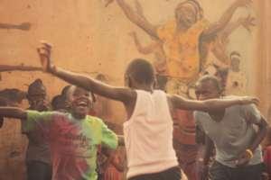 MindLeaps Dance Class at M-LISADA