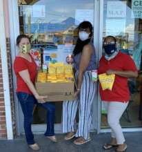 PAVI delivers medicine and supplies on St. Thomas