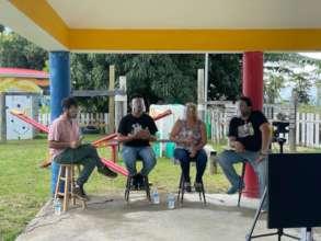 Speakers at La Marana event in Puerto Rico