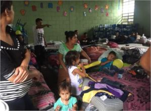 ASOGEN delivers help to families in shelters.