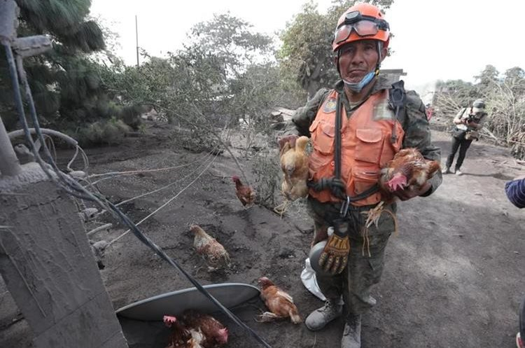 On The Ground with the Guatemala Volcano