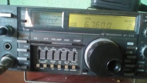 Gerardo's photo of the community's preferred radio