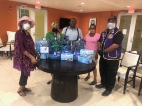 Ensuring seniors have drinking water in quarantine