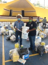 380 families have received a water filter